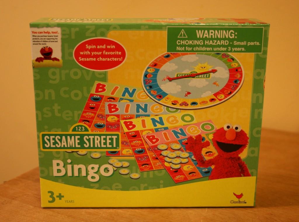 $1 Sesame Street Bingo from Target