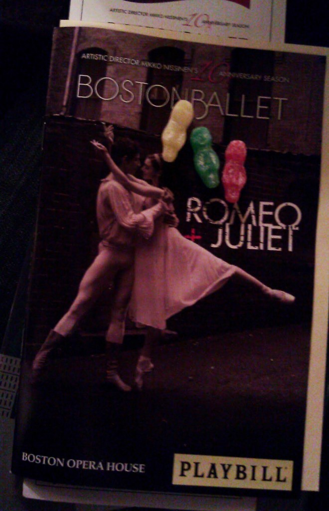 Boston Ballet's Romeo + Juliet at the Boston Opera House