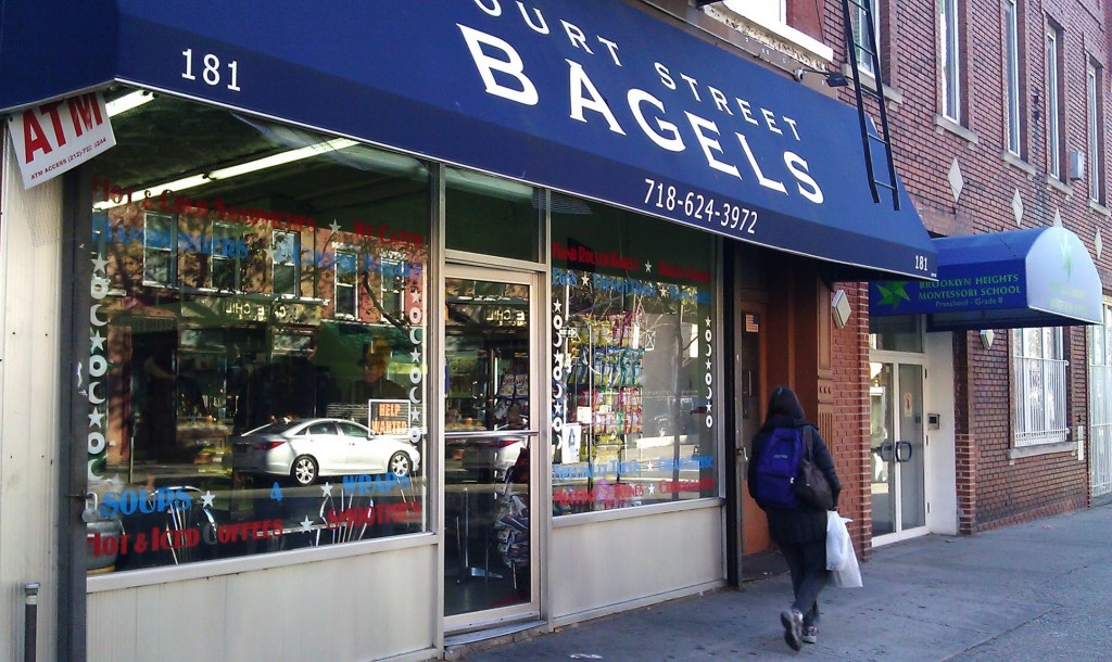 Court Street Bagels in Brooklyn