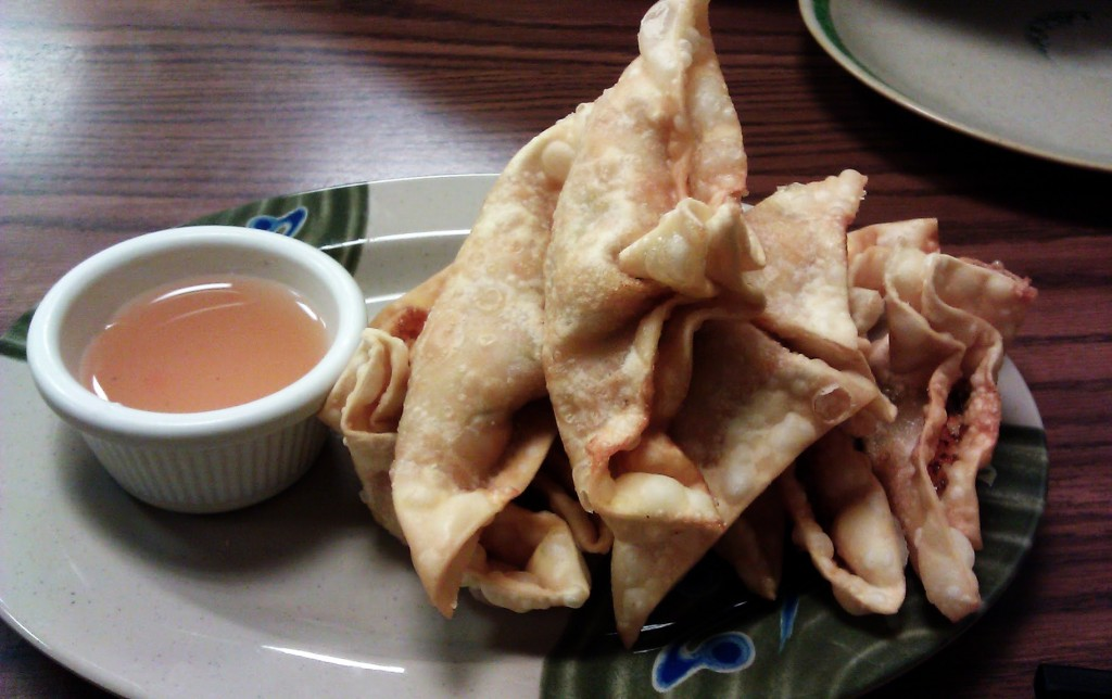 Crab Rangoon from King Fung Garden in Chinatown