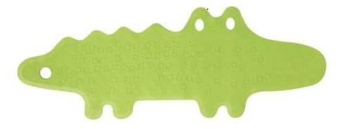 IKEA Patrull alligator bath mat