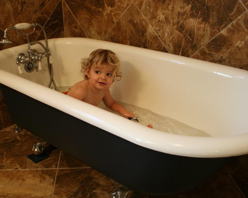Speaking of baths...