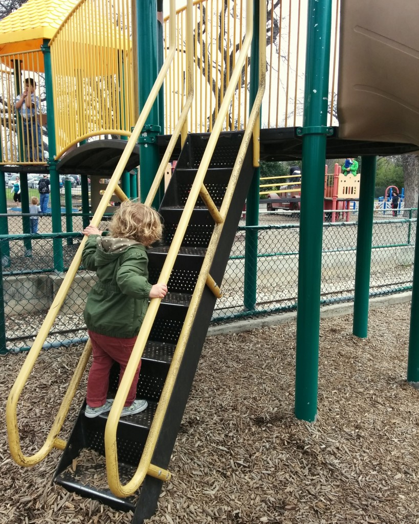 "During the long Boston winter Soren forgot how to play on playgrounds. He was the most awkward kid in Austin. And he asked me multiple times, ""Where's their snow?"""