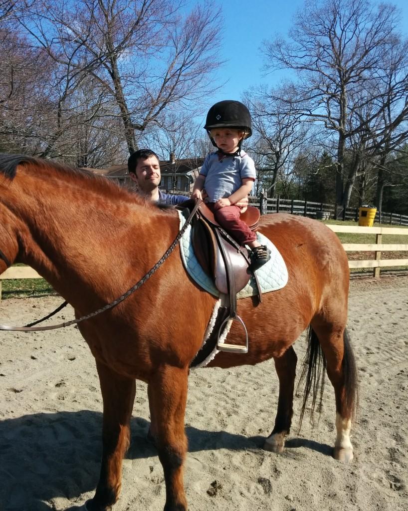 "Soren rode one of Mackenzie's new horses. ""How do I make it go?"" he asked."