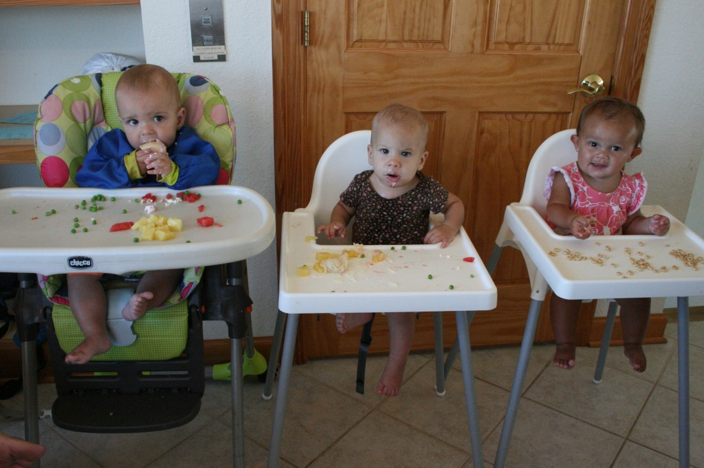 High chair city.