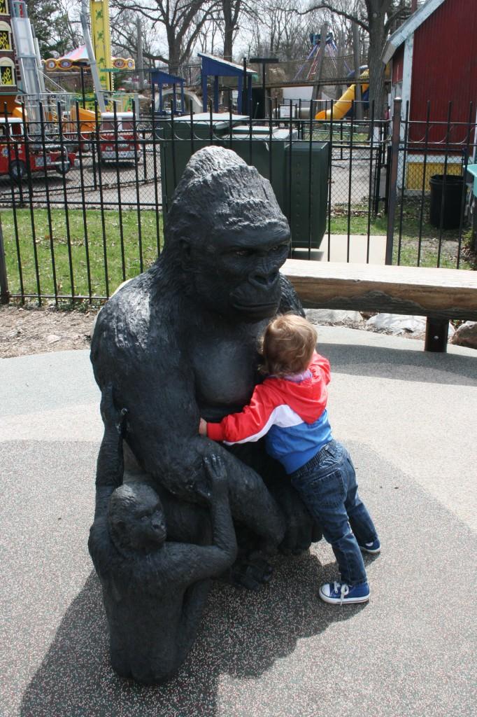Gorilla love.