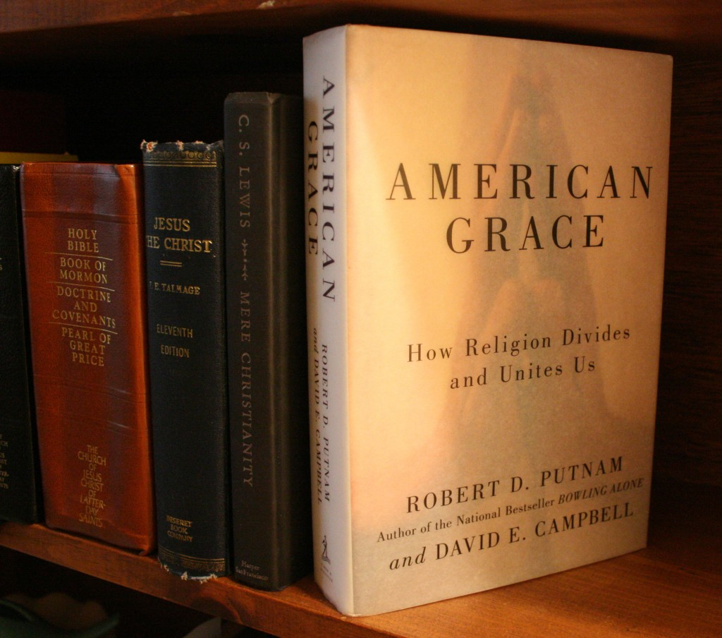 American Grace by Robert Putnam and David Campbell — found at Goodwill