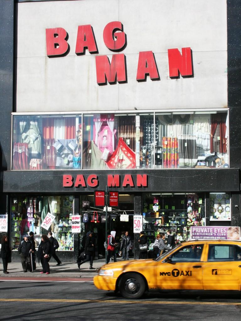 bag man new york