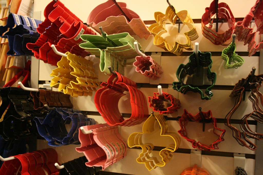 cookie cutters at Kitchenwitch in Jamaica Plain