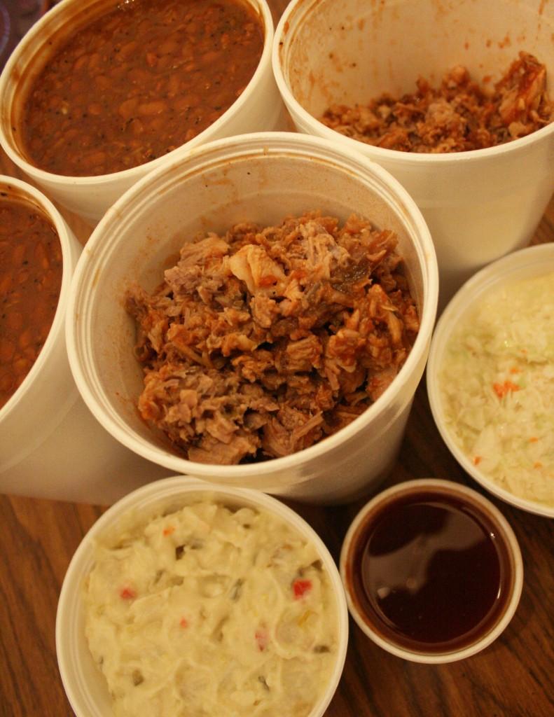 mr barbecue pork slaw beans winston salem