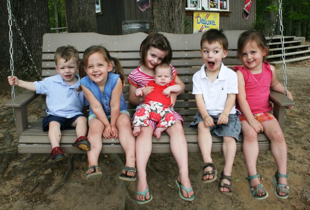 nieces nephews swing lazy 5 ranch