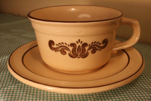goodwill pfaltzgraff cup saucer