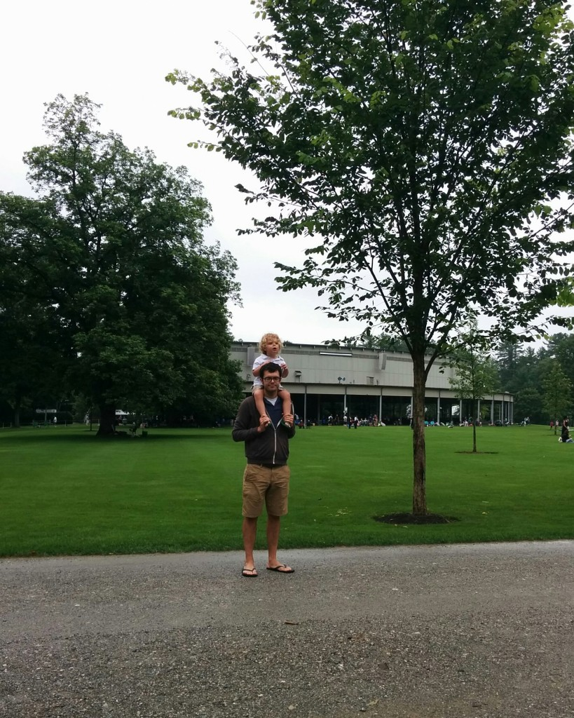 On Saturday we made it to a Boston Symphony Orchestra rehearsal at Tanglewood.