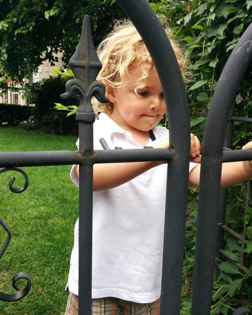 "Soren regularly refers to himself as ""the gate master."" We have no idea where he came up with it."