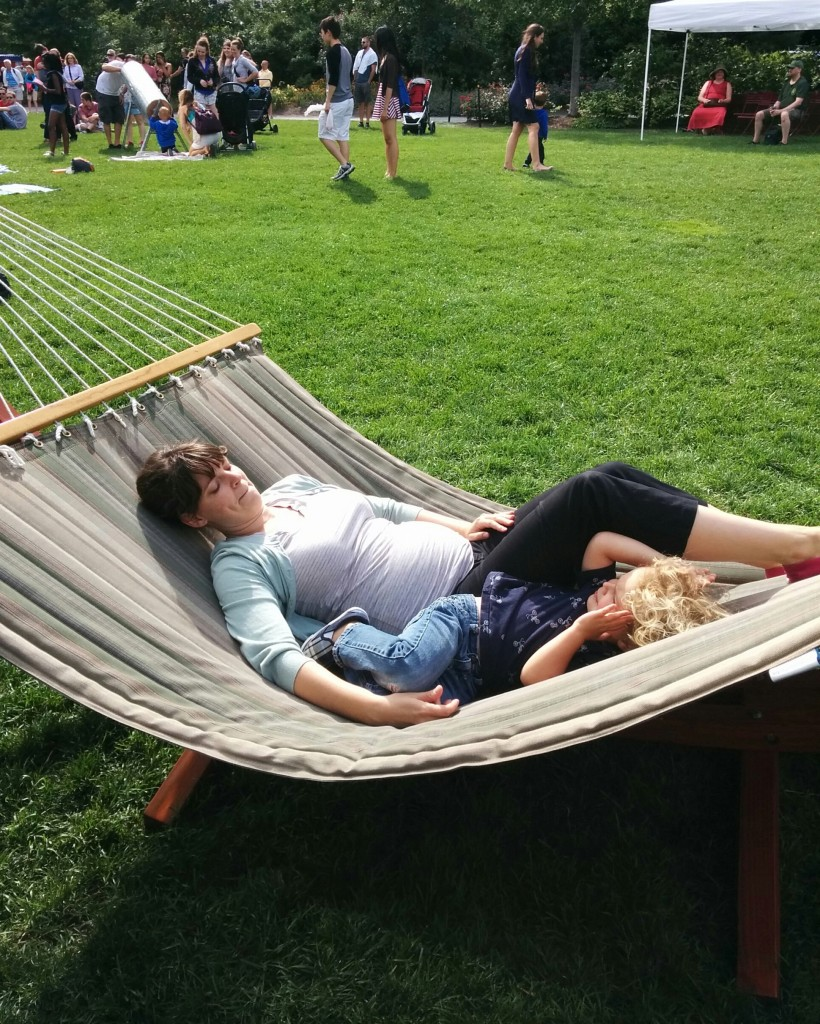 Thank you, Greenway, for providing hammocks for all.