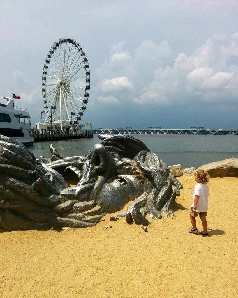 We spent our first day hanging at Reagan's and visiting the National Harbor.
